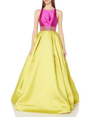 Mac Duggal Women's Color Block Makkado Gown