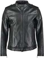 Sisley Faux Leather Jacket Black