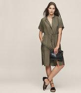 Reiss Isabeli Short Sleeved Dress