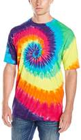 Liquid Blue Men's Rainbow Spiral T-Shirt