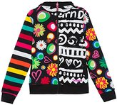 Desigual Girl's Camus Sweatshirt,3 Years (Manufacturer Size:3/4)