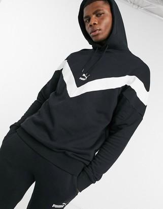 Puma Iconic MCS hoody in black