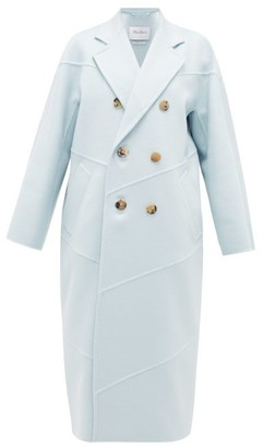 Max Mara Stagno Coat - Womens - Light Blue