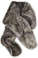 Banana Republic Faux Rabbit Fur Scarf