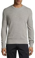 Belstaff Malwood Sweater w/Elbow Patches, Gray