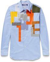 Junya Watanabe - Slim-fit Patchwork Checked Cotton Shirt