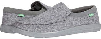 Sanuk Hi Bro Lite Wooly (Grey) Men's Shoes