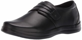 Apex A830W Linda Classic Monk Strap Shoe