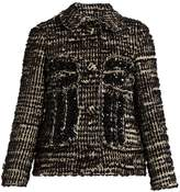 Simone Rocha Textured-tweed jacket