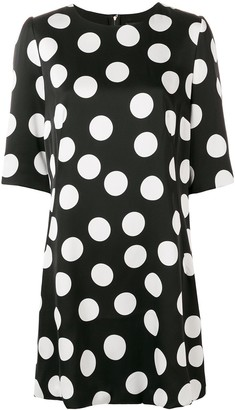 Dolce & Gabbana Polka-Dot Shirt Dress