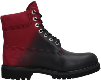 MARCELO BURLON x TIMBERLAND Ankle boots