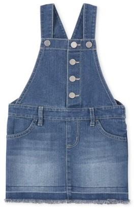 The Children's Place Baby Girl & Toddler Girl Denim Skirtall Dress (12M-5T)