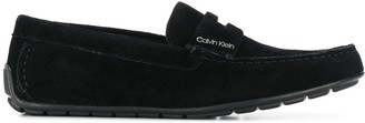 Calvin Klein Logo Plaque Loafers