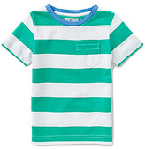 Class Club Little Boys 2T-7 Striped Patch-Pocket Tee
