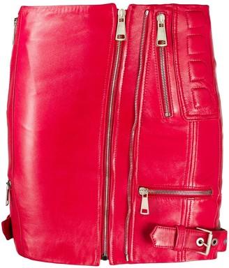 Manokhi Neisy zipped mini skirt