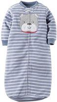 Carter's Baby Boy Striped Dog Sleep Bag