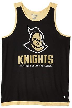 Champion College UCF Knights Field Day Fashon Tank (True Black/Vegas Gold) Men's Clothing