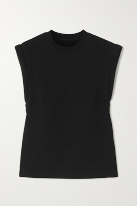 RtA Kairi Cotton-jersey T-shirt - Black