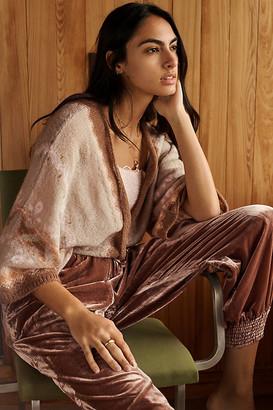 Anthropologie Wendy Kimono Wrap Cardigan By in Beige Size M/L