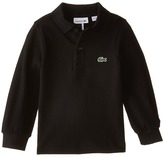 Lacoste Kids Long Sleeve Classic Pique Polo Shirt (Toddler/Little Kids/Big Kids)