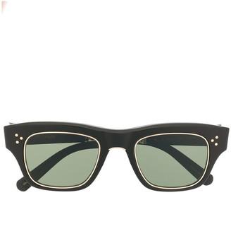 Garrett Leight Square Frame Sunglasses