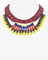 Aqua Kesha Bib Necklace, 16 - 100% Exclusive