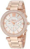 Freelook Women's HA1539-RG Rose Gold-Tone Stainless Steel Watch