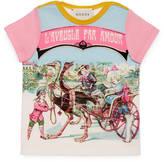 Gucci Baby vintage print t-shirt