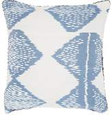Madeline Weinrib Dodi Ikat Silk-Cotton Pillow