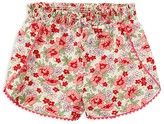 Ralph Lauren Infant Girls' Linen Blend Floral Shorts - Sizes 6-24 Months