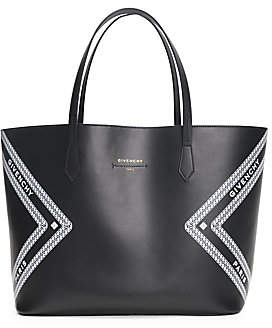 Givenchy Women's Wing Logo Leather Tote