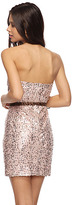 Forever 21 Sequined Sweetheart Dress