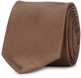 Tiger Of Sweden Ciofi Brown Silk Tie