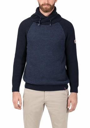 Timezone Men's Shawl Collar Pullover Jumper