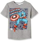 Marvel Boy's Captain America Short Sleeve T-Shirt