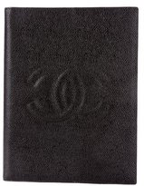 Chanel Caviar Leather Notebook