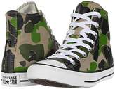 Converse Chuck Taylor All Star Camo - Hi (Black/Candied Ginger/White) Athletic Shoes