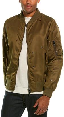 Valentino Grommet Jacket