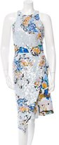 Michael Van Der Ham Sequined Sheath Dress