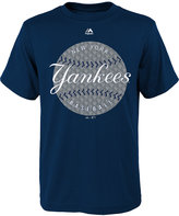 Majestic Boys' New York Yankees Electric Ball T-Shirt