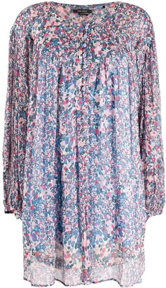 Isabel Marant Orion floral print mini dress