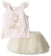 Mud Pie Two Tutu Skirt Set Girl's Active Sets