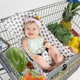 Binxy Baby® Shopping Cart Hammock in White/Grey Triangles