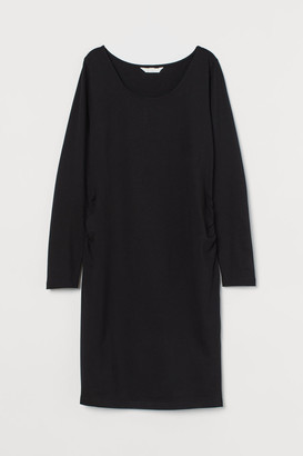 H&M MAMA Jersey Dress - Black