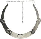 Arden B Large Bolt Collar Necklace