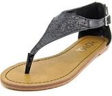 XOXO Garnet Open Toe Synthetic Thong Sandal.