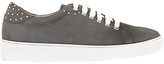 Mint Velvet Amber Studded Trainers, Dark Grey