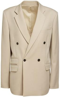 Stella McCartney Double Breasted Wool Blazer