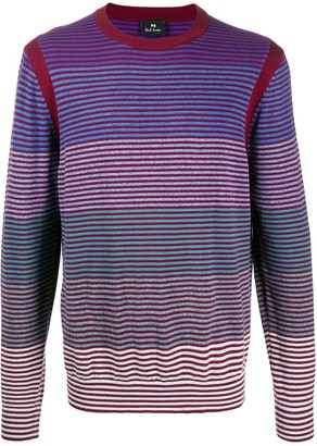 Paul Smith striped pattern jumper