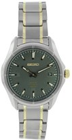 Seiko Men's SNE143 Two Tone Stainless Steel Analog with Dial Watch
